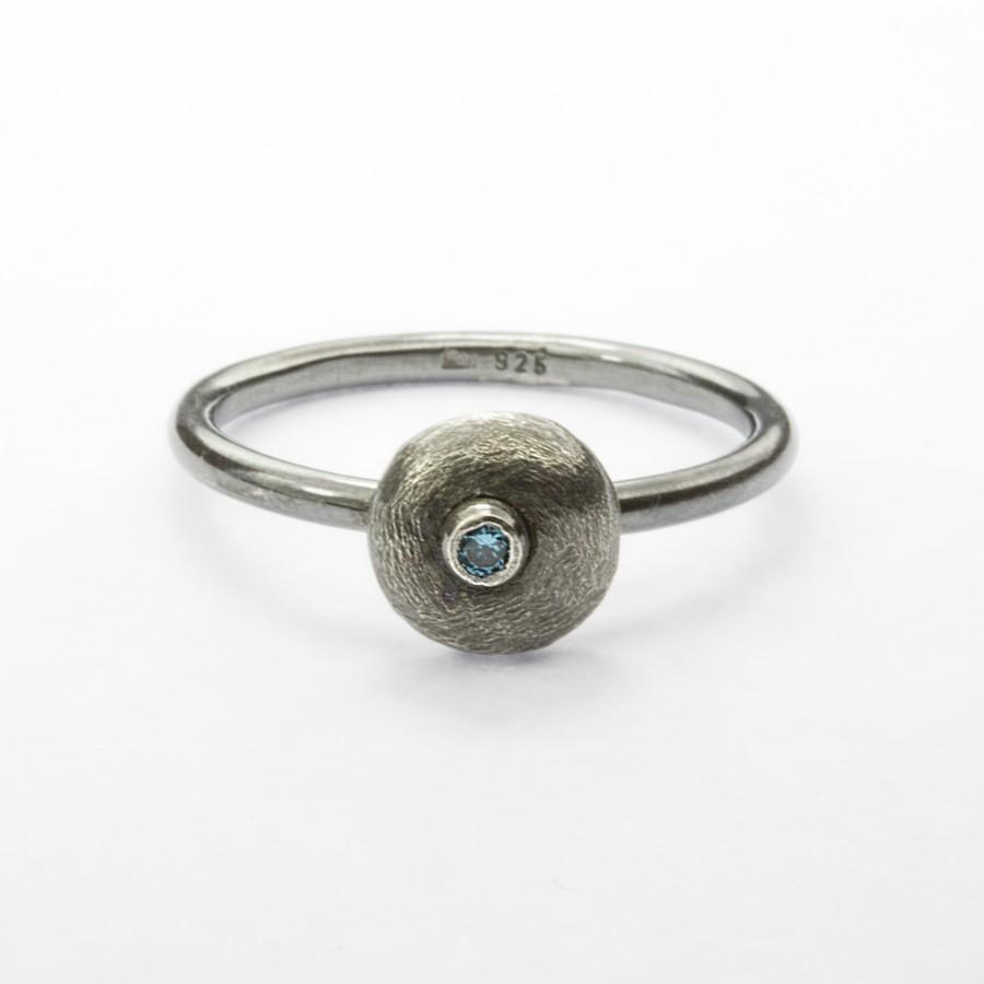 """Sidabrinis žiedas """"Pebbles"""" MW5-2107M"""